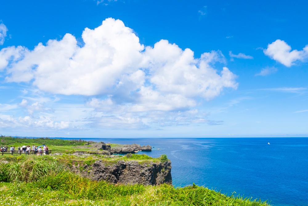 沖縄県の中部に万座毛はある