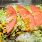 宜野湾でおすすめのお店「メヒコ」。辛さ+爽やかさのあるタコライス