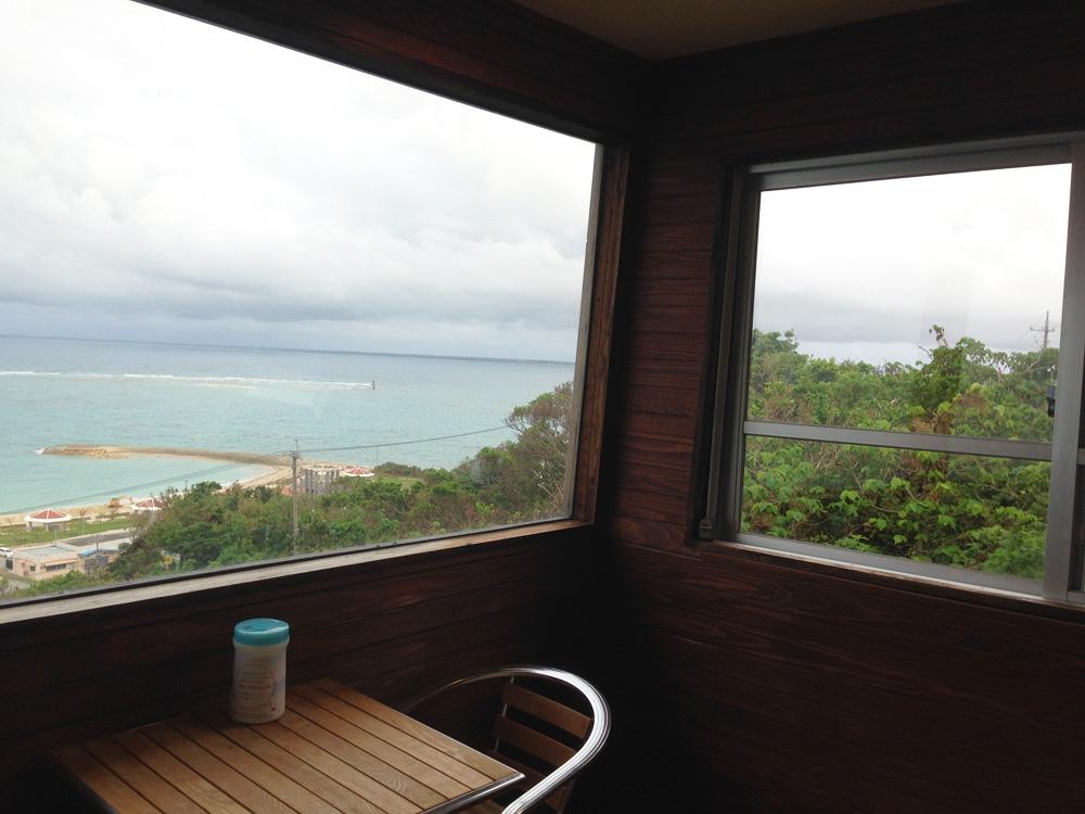 窓辺からの景色