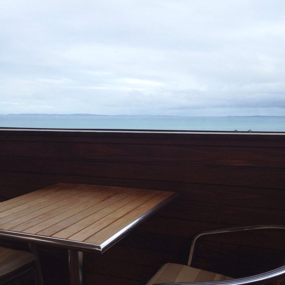 景色がいいカフェ