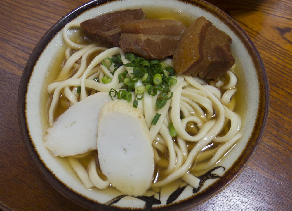 きしもと食堂の沖縄そば