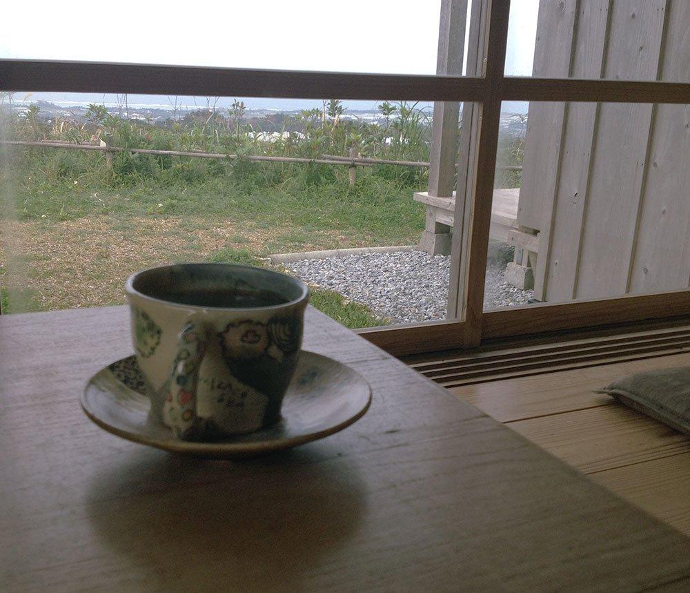 カフェこくうの雰囲気