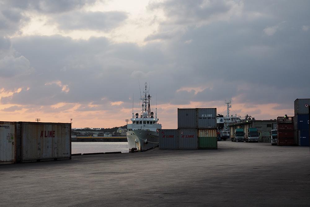 那覇港の風景