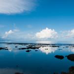 ウユニ塩湖を思わせる、沖縄の隠れスポット「テダ御川」