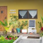 東村の住宅街にあるカフェ「帆風」で、四季折々のランチ&ガーデニングを楽しむ。