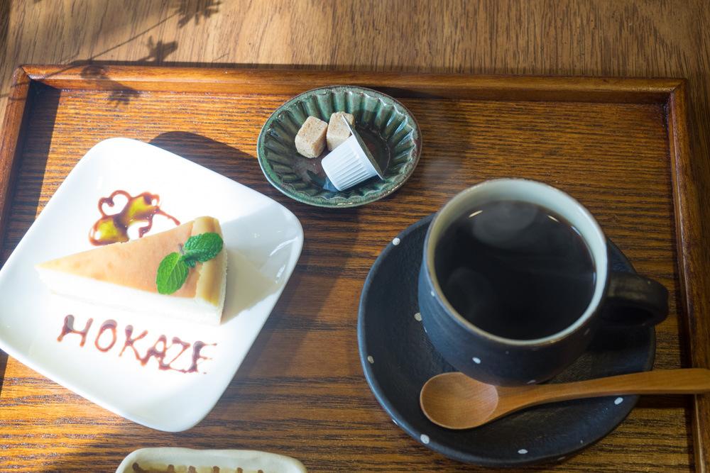 コーヒーとケーキセット