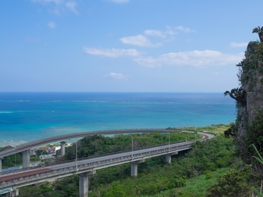 ニライカナイ橋 展望台からの絶景