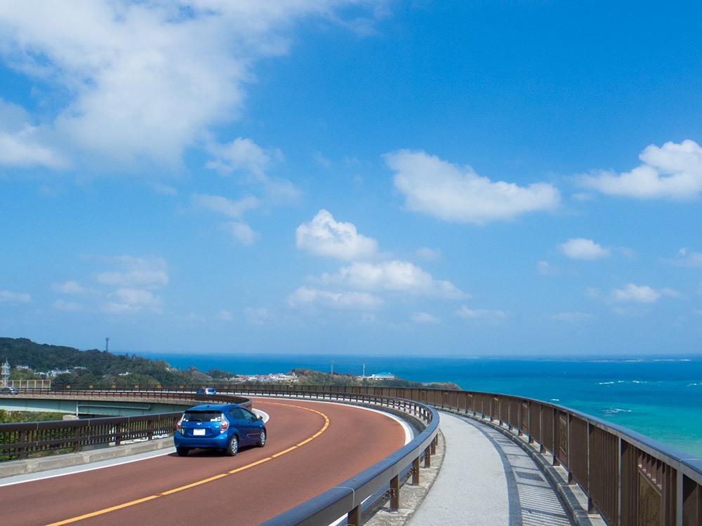 ニライカナイ橋の景色