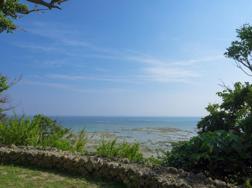 きれいな海の景色
