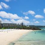 5つ星の天然リゾートビーチ「ムーンビーチ」