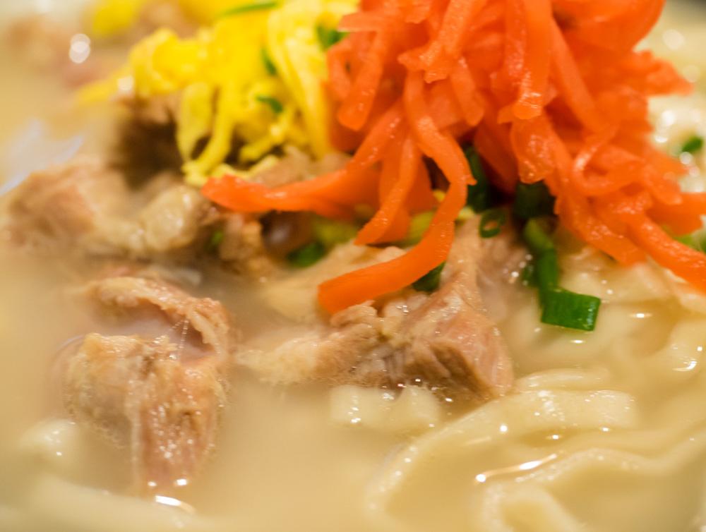 白湯スープのような