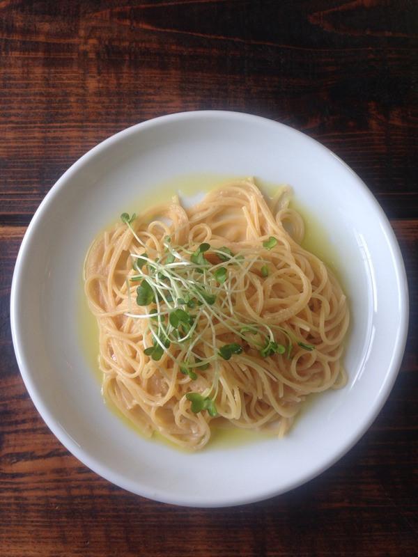 生タラコのスパゲッティ