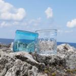 Gala青い海の「Glass Art 青い風」で、琉球ガラスづくりを体験