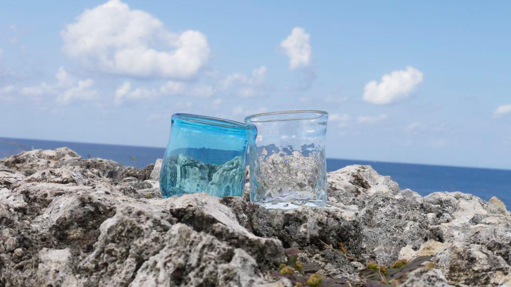 gala青い海で体験