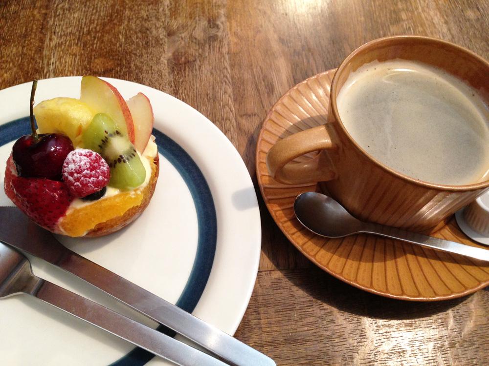 オハコルテのカフェ