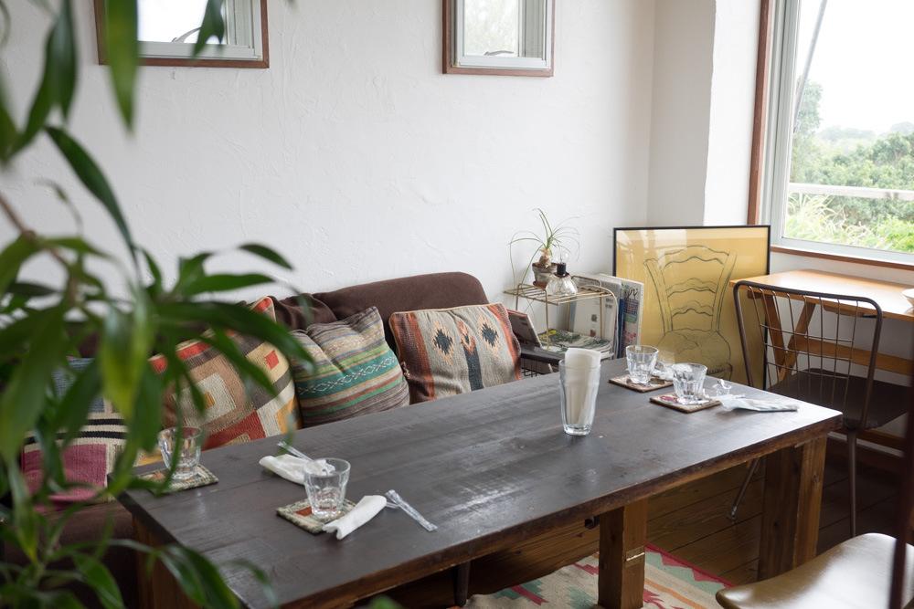 ベジタリカのソファ席