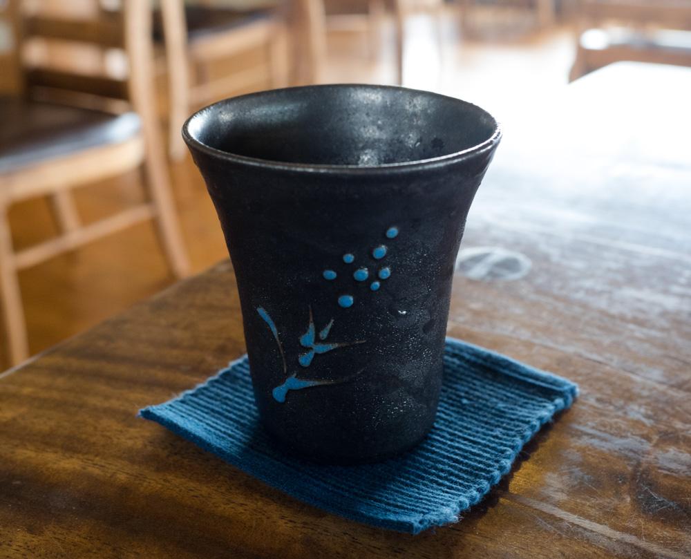 グラスが陶器