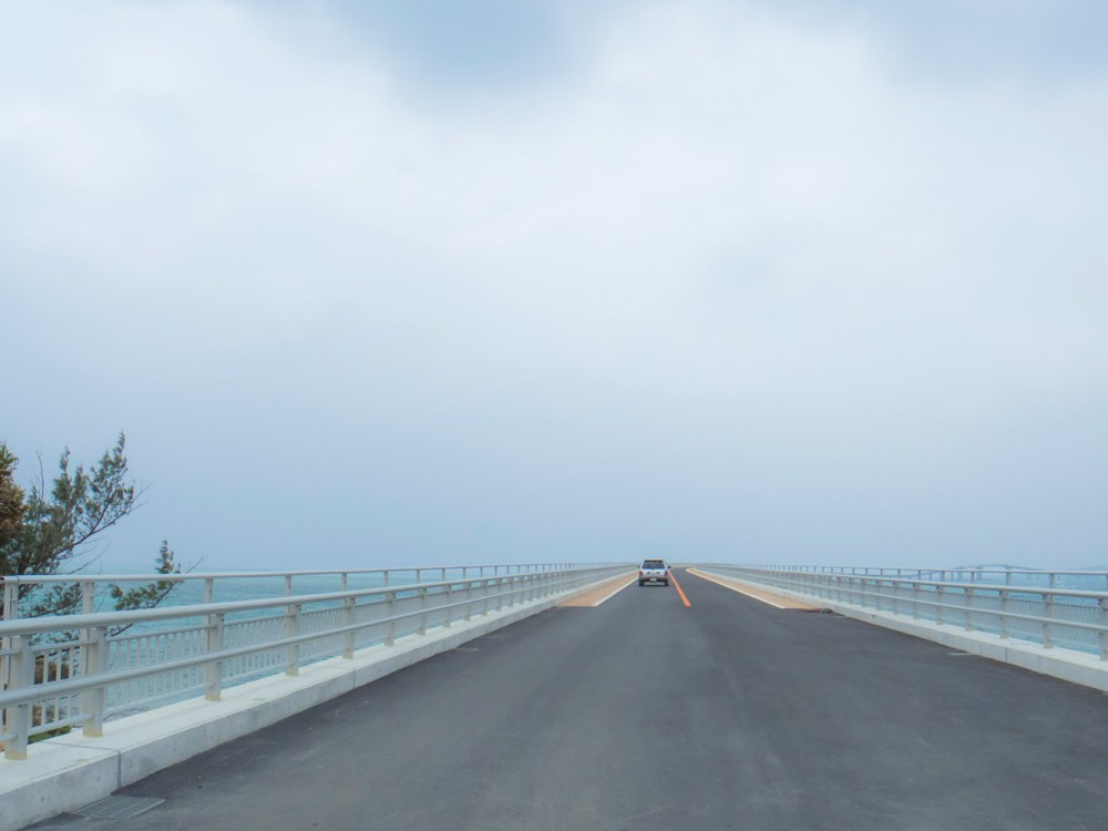 無料で渡れる伊良部大橋