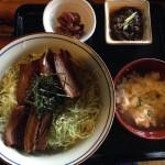 首里の古民家食堂「しむじょう」。登録有形文化財で食べる沖縄そば