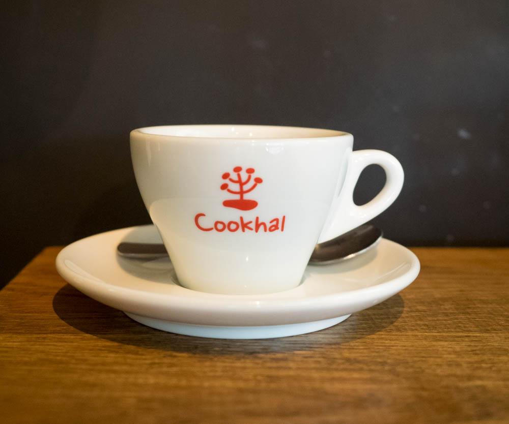クックハルのコーヒー