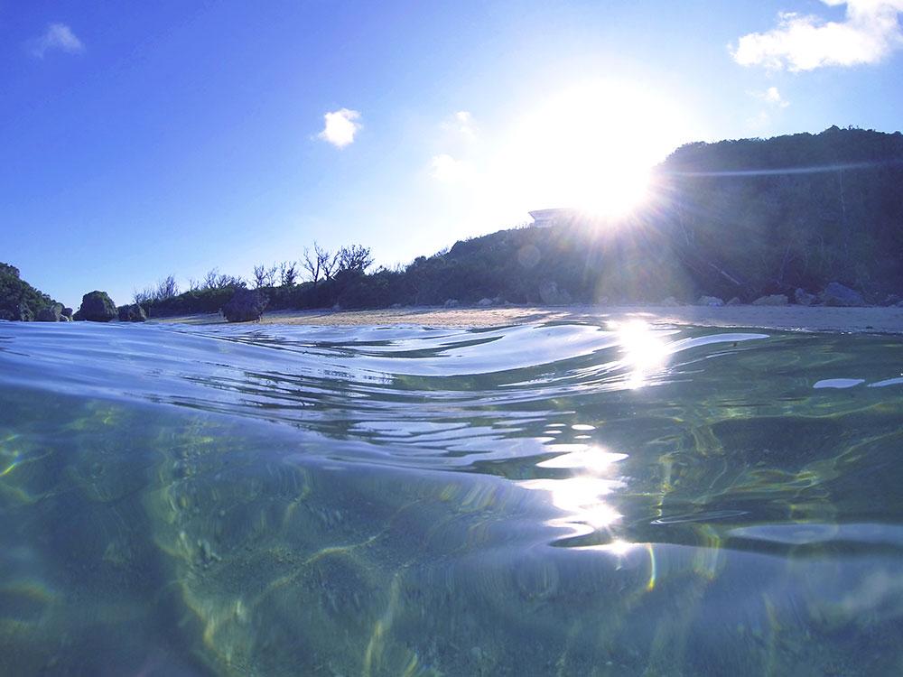 ムルク浜の穴場ビーチ