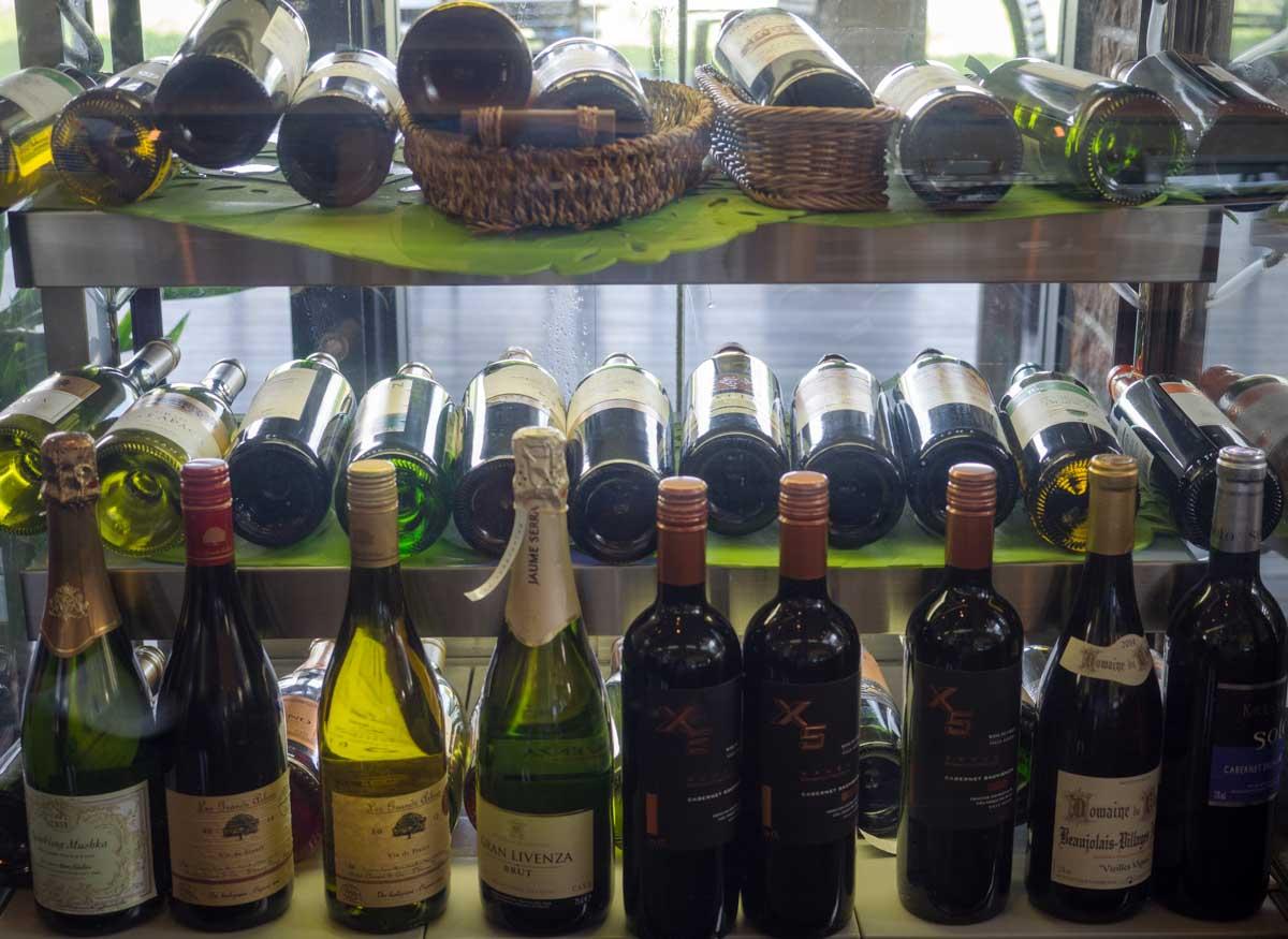 夜はワイン