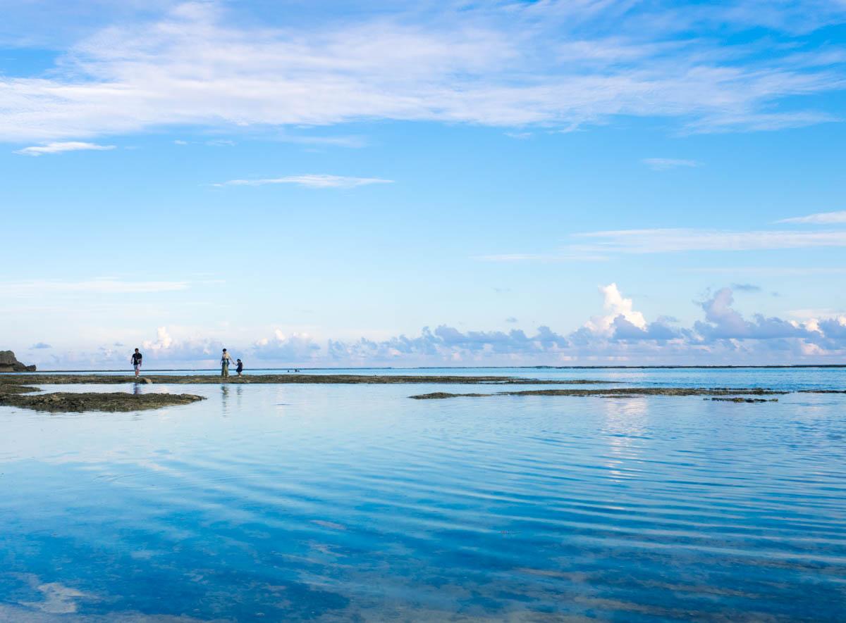 大度浜海岸のウユニ塩湖