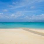 幸喜ビーチ – 900メートル続く、長い、長い、海岸線