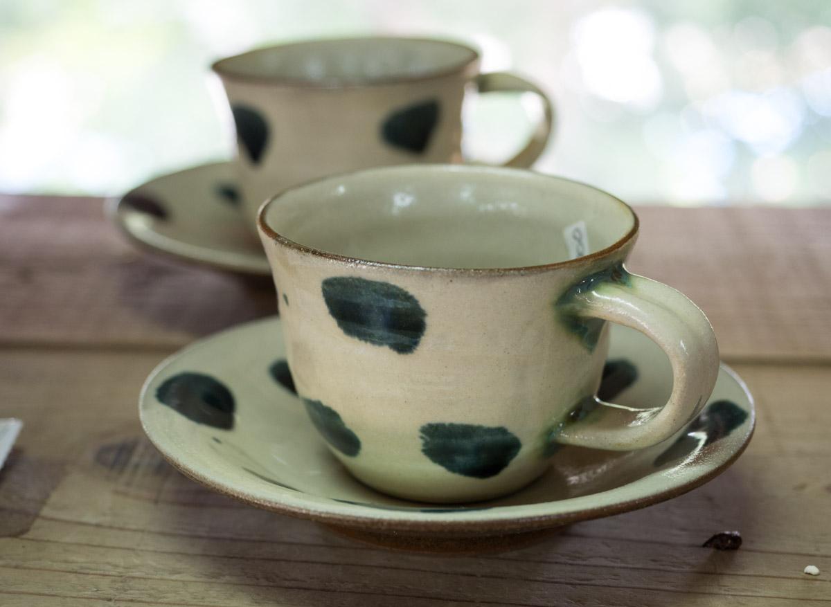 コーヒーカップのやちむん