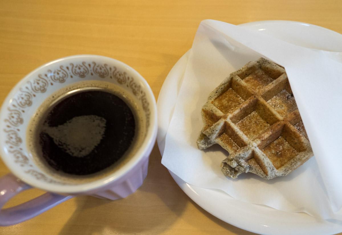ホットコーヒーとセット