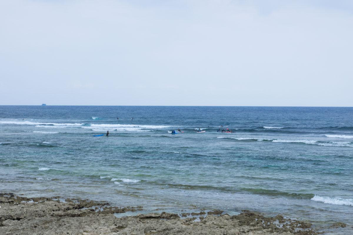 初心者のサーフィン教室