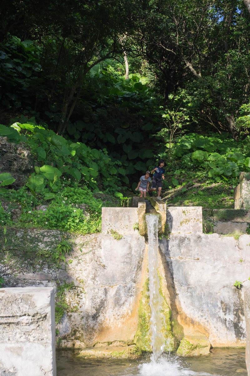 沖縄唯一の名水