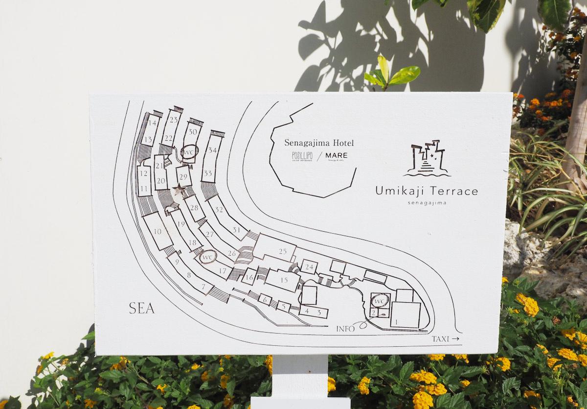 ウミカジテラスの地図