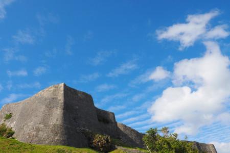 うるま市の観光スポット勝連城跡