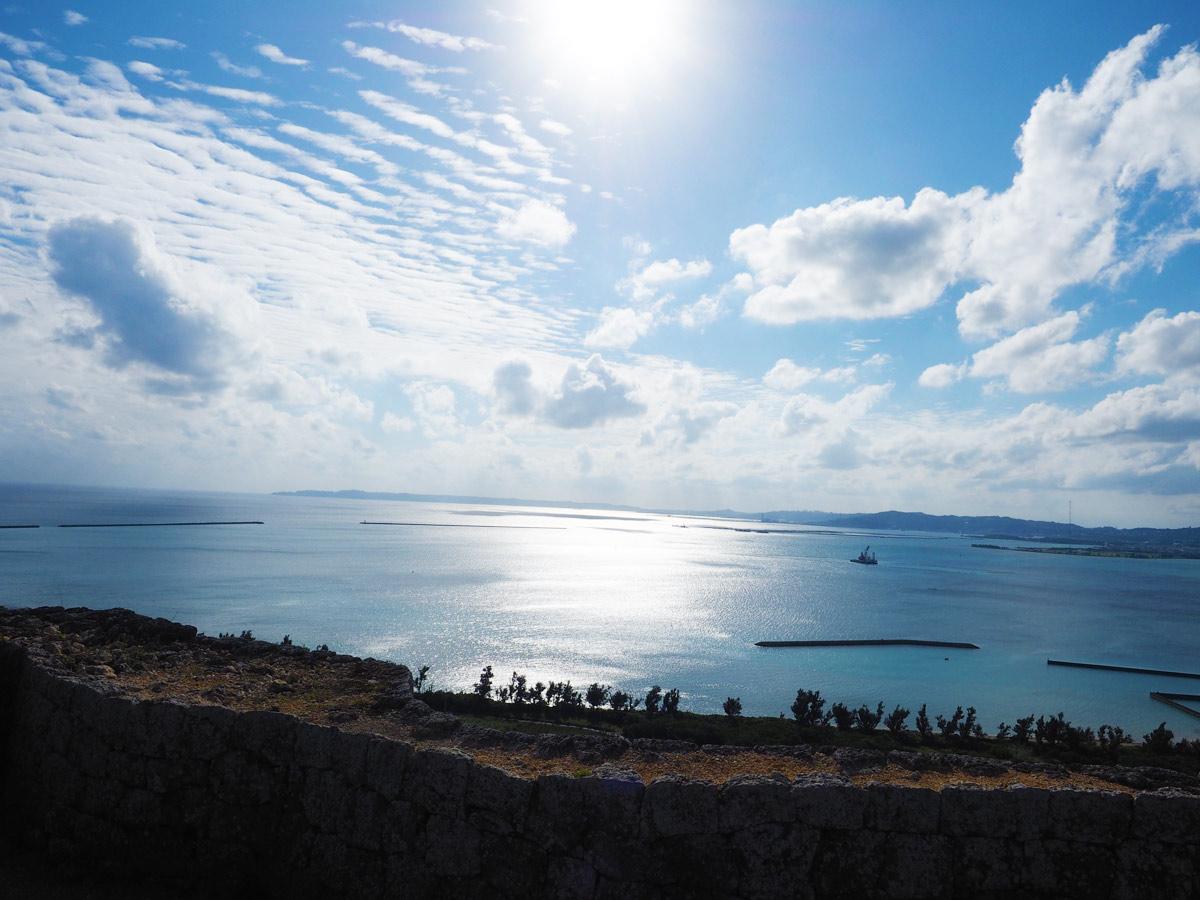 勝連城跡からの景色