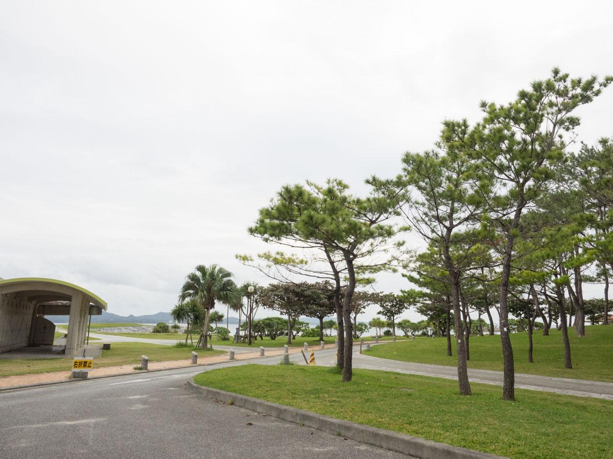 名護市のビーチ