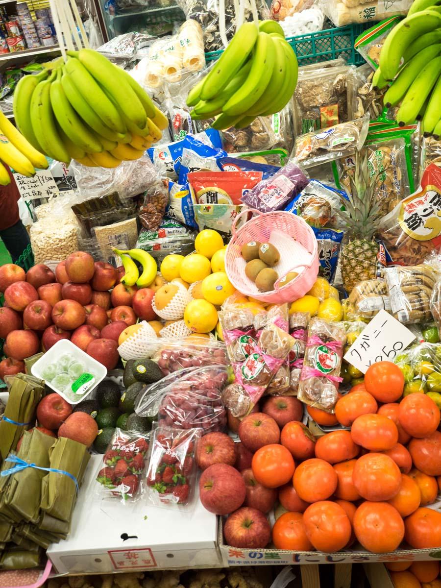 野菜・フルーツがたくさん
