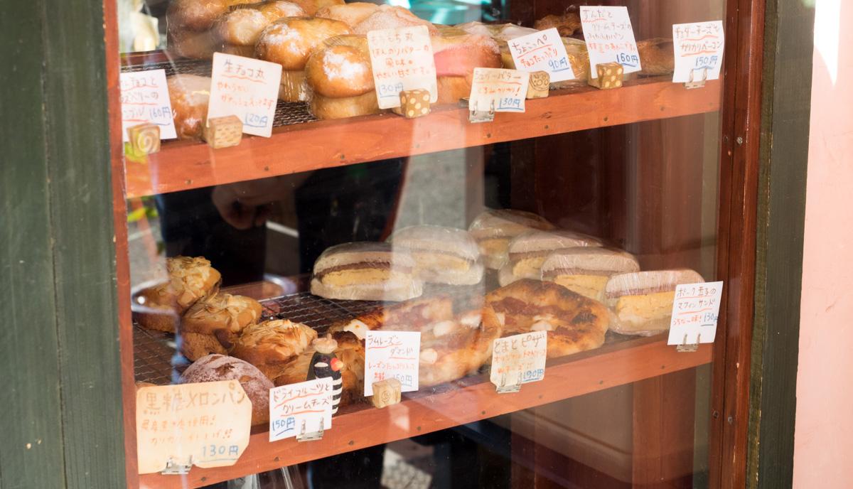 色んな種類のパンがある