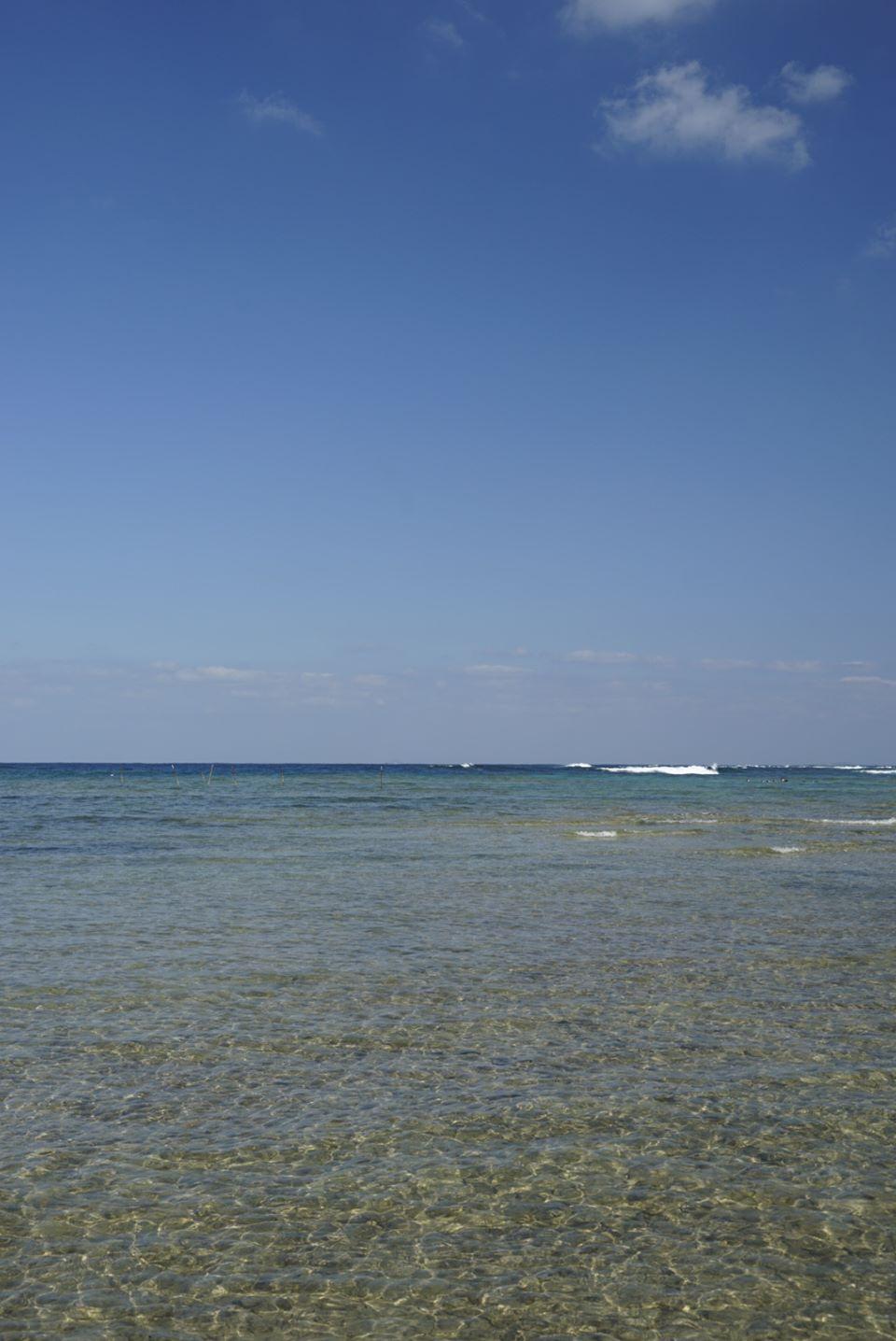マリブビーチ遠浅