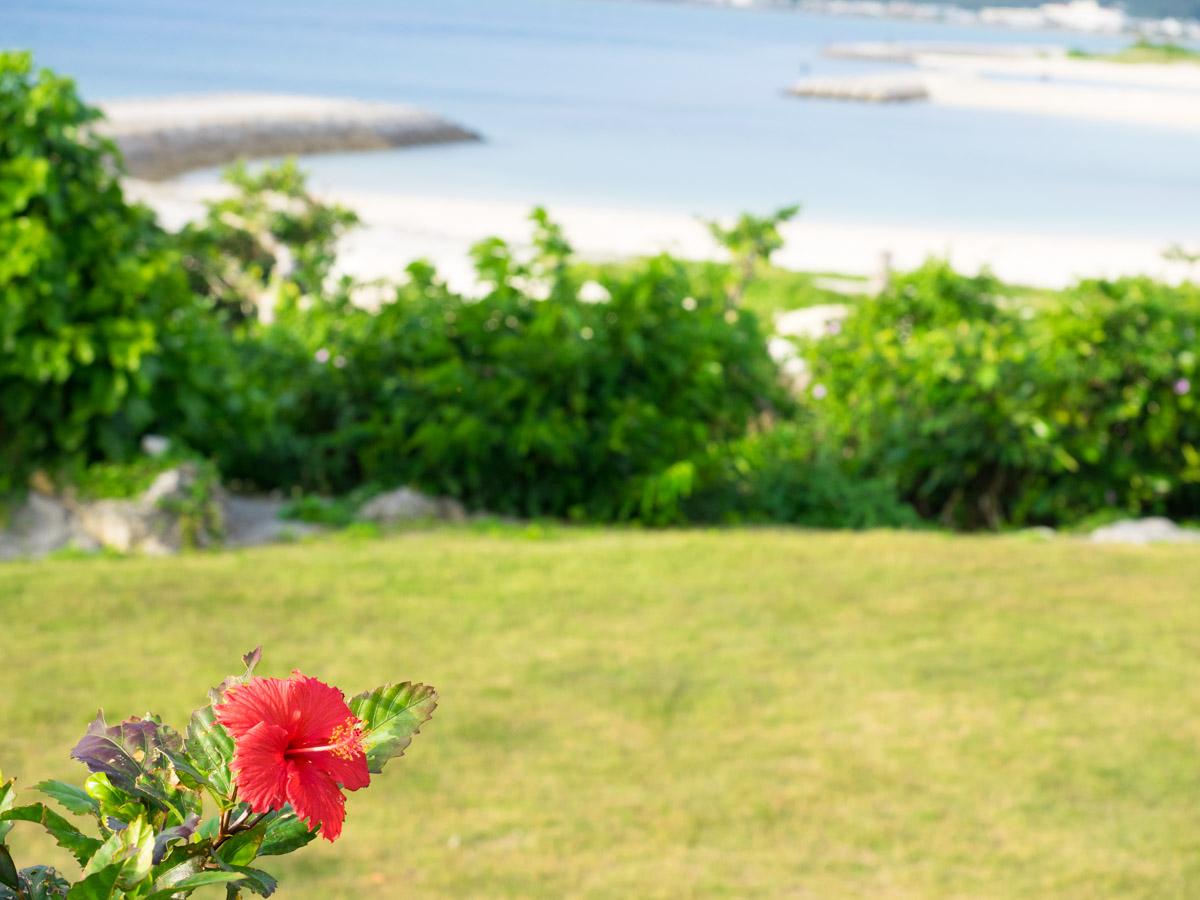 浜比嘉島でゆっくり宿泊