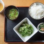 久高島の食堂「とくじん」でゆっくりお昼ごはん