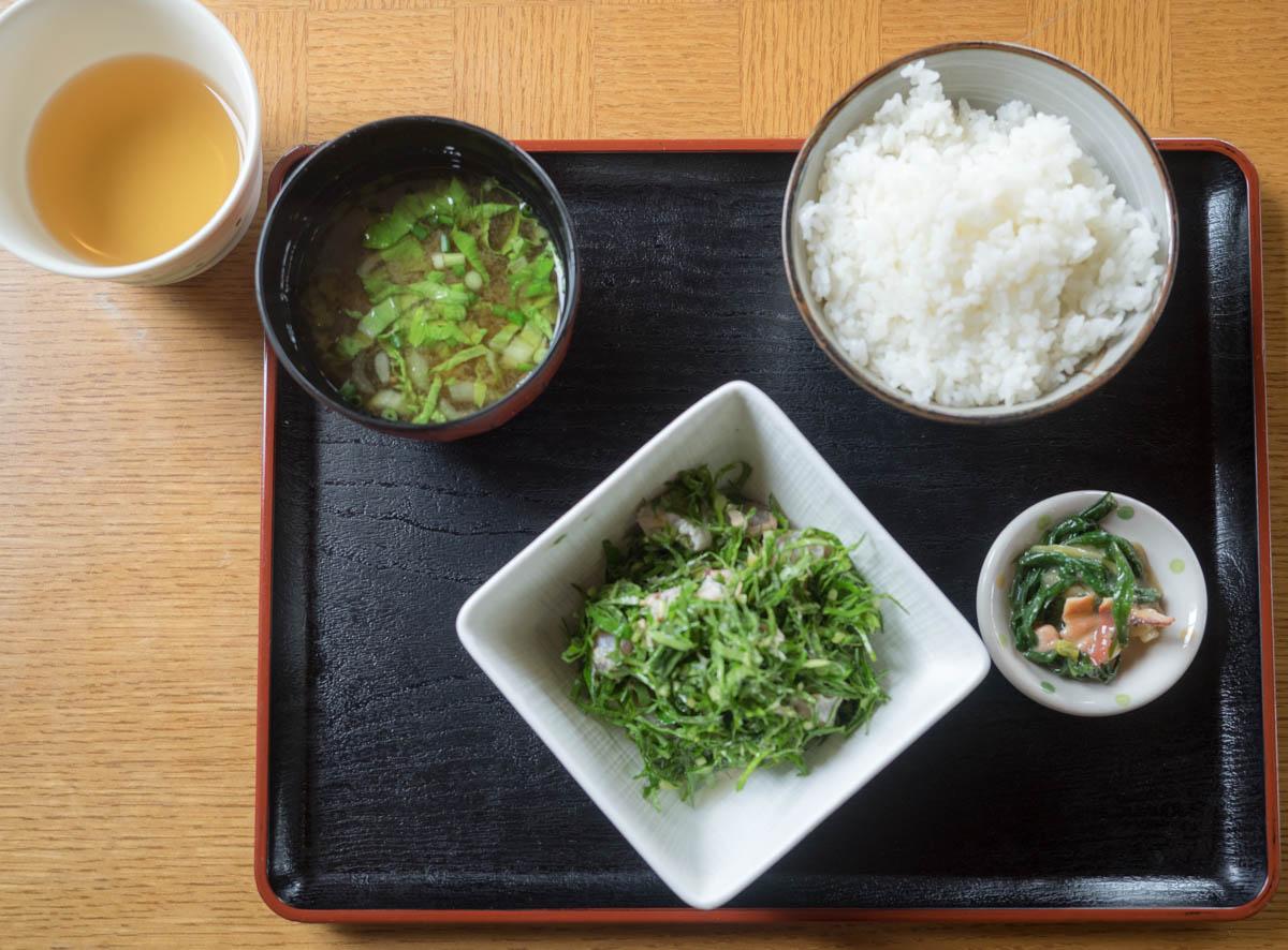 久高島特産 ニガナ定食