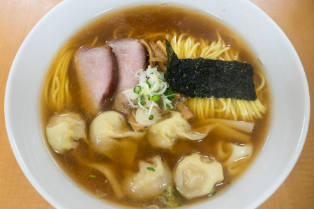 ワンタン麺