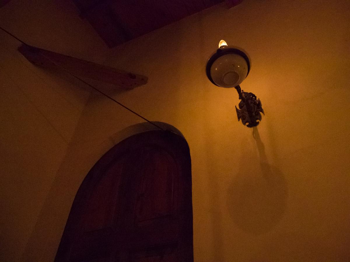 入り口の扉