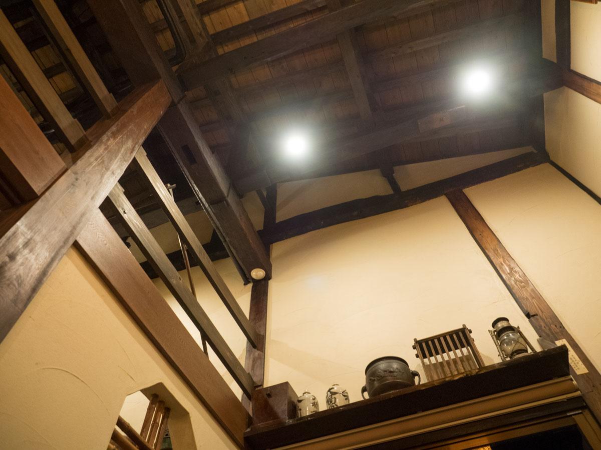 天井が高い古民家