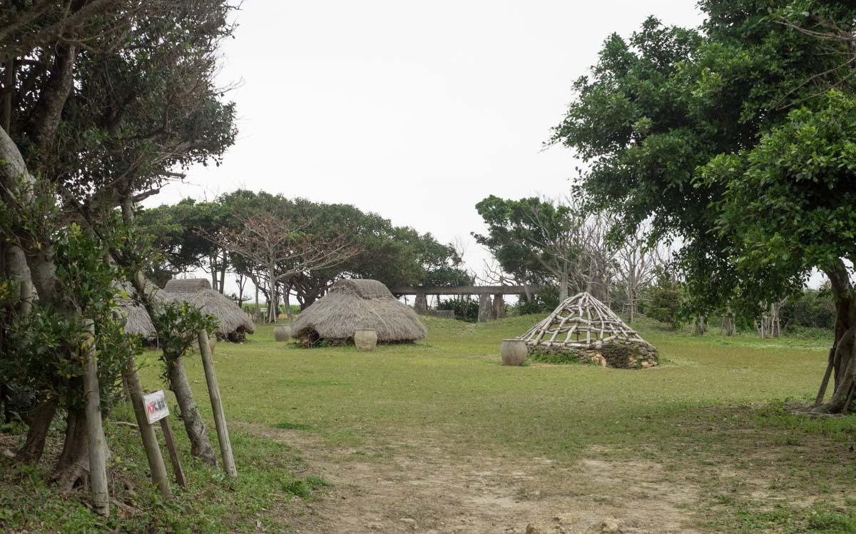 復元された家々