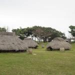 伊計島「イチの里 仲原遺跡」沖縄の縄文時代の竪穴式住居