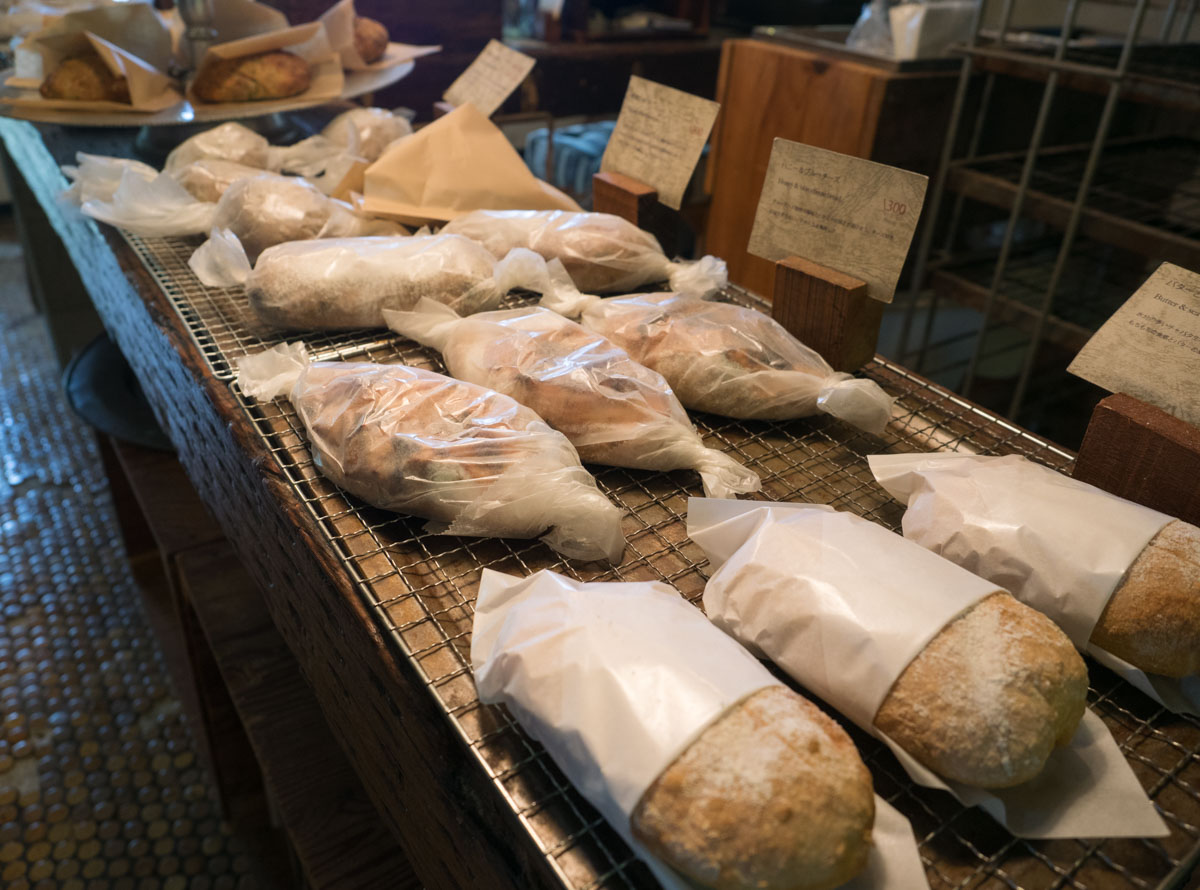 パンをテイクアウトできる