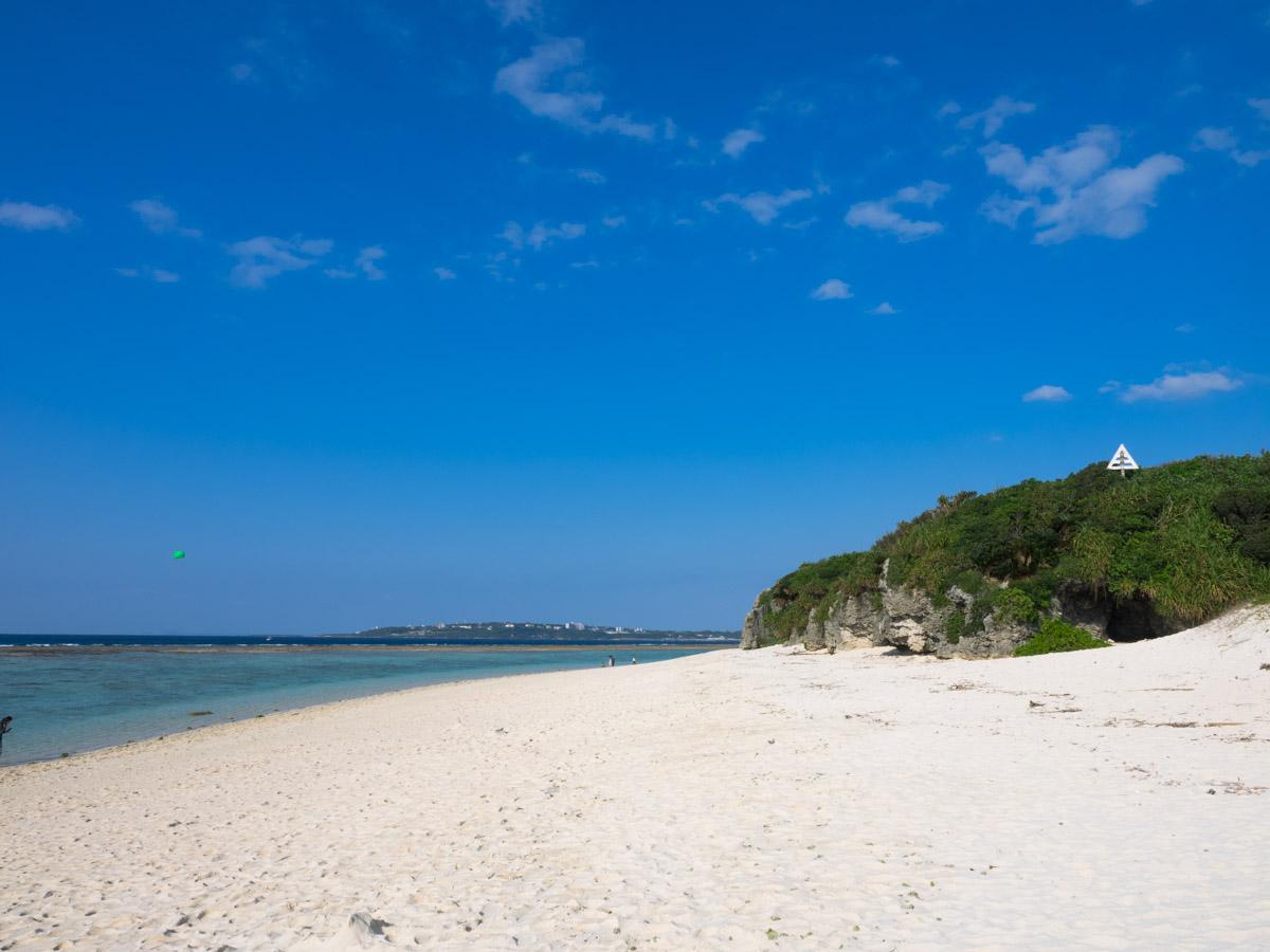 沖縄らしい海