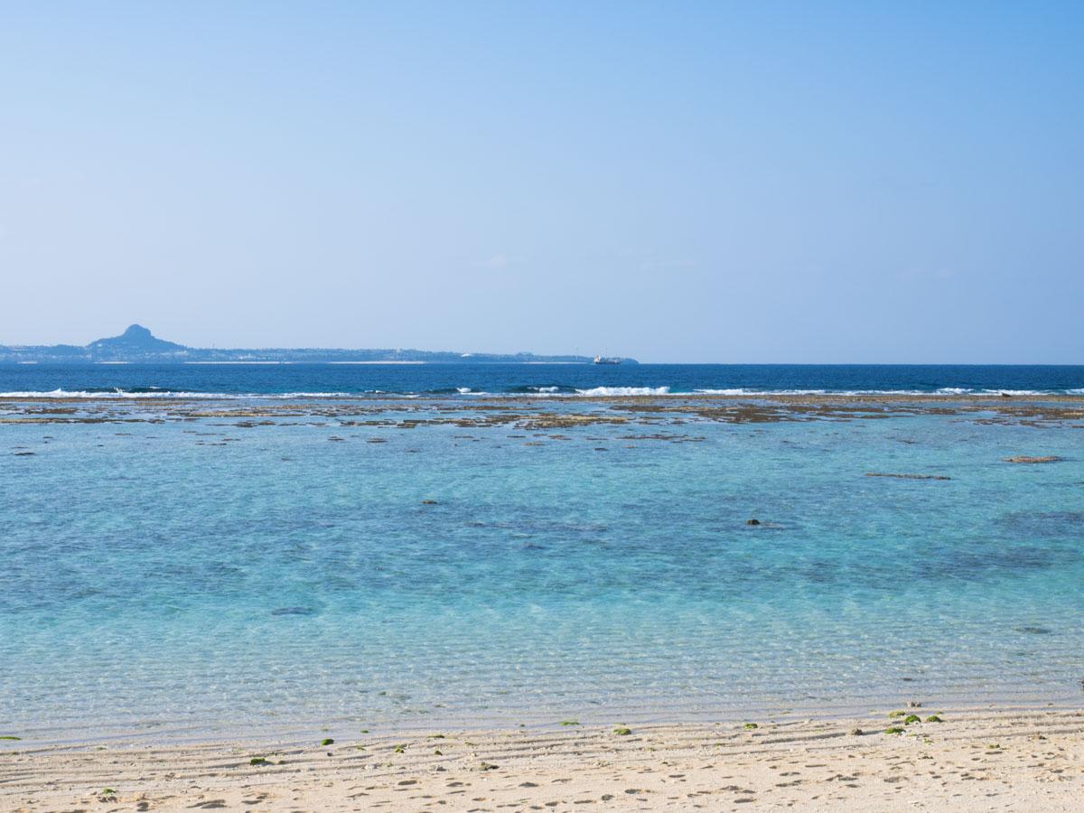 いいビーチだ